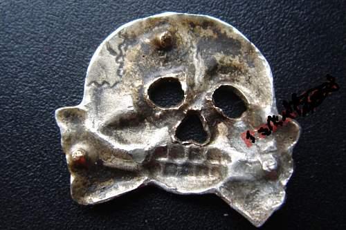 skull ss? Danzig Hussars death - pin bayonet or saber