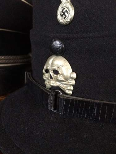 DRGM Holster with Totenkopfs