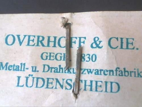 Un-Issued Overhoff & Cie Totenkopf?