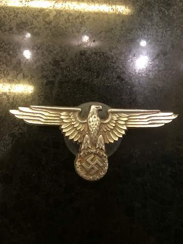 Ss eagle badge real or fake?