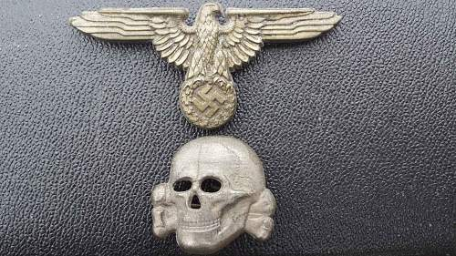 Unmarked eagle and skull ! Real or fake ?