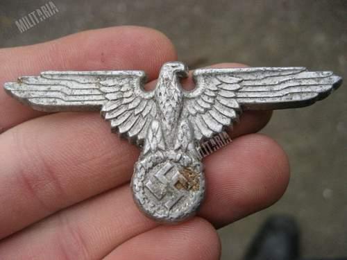 SS cap eagle fake?