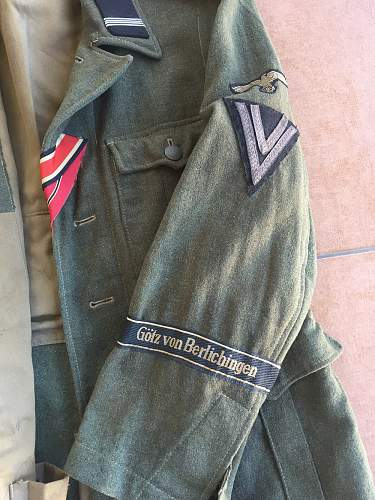 Click image for larger version.  Name:Waffen-SS M40 Tunic (Full Sleeve).jpg Views:368 Size:198.3 KB ID:1002383