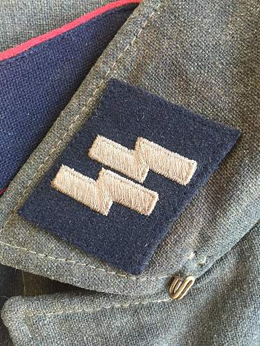 Click image for larger version.  Name:Waffen-SS M40 Tunic (SS Collar Tab).jpg Views:790 Size:228.3 KB ID:1002389