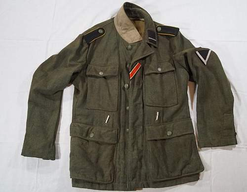 Click image for larger version.  Name:Waffen-SS M43 Tunic (Front).jpg Views:47 Size:94.0 KB ID:1002395