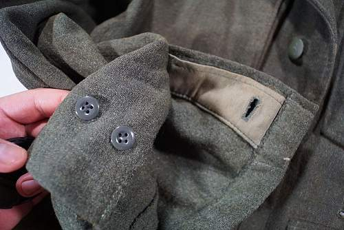 Click image for larger version.  Name:Waffen-SS M43 Tunic (Sleeve Front).jpg Views:404 Size:120.2 KB ID:1002402