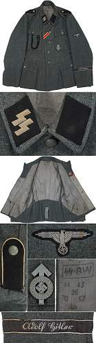 Click image for larger version.  Name:Original Waffen-SS Tunic #2 (M43).jpg Views:255 Size:225.5 KB ID:1002524