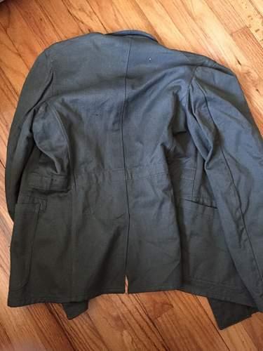SS HBT type tunic