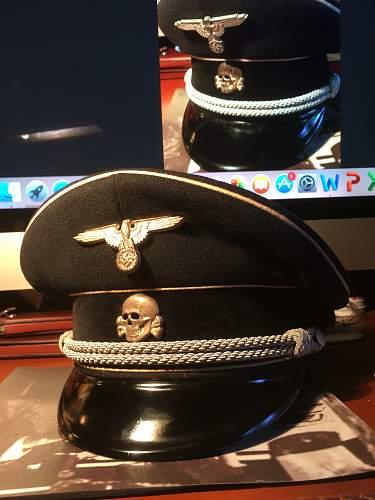 SS Peaked Cap - Real or Fake?