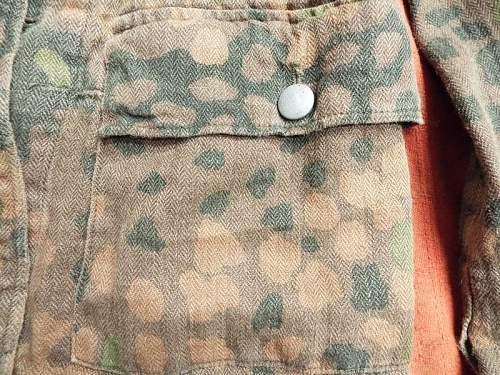 Waffen SS M44 Erbstarnmuster uniform