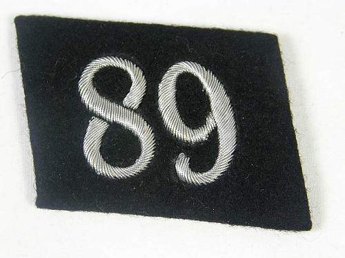 How early is this SS collar tab?