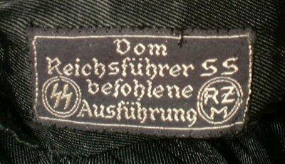 SS Reichsfuhrung cuff title