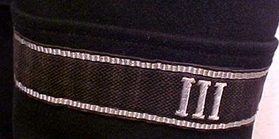 Allgemeine-SS Cuff Title