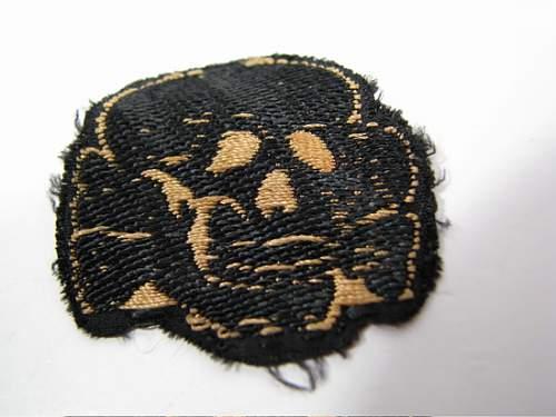 skull original patch