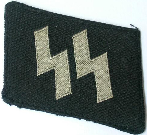 Bevo SS collar insignia