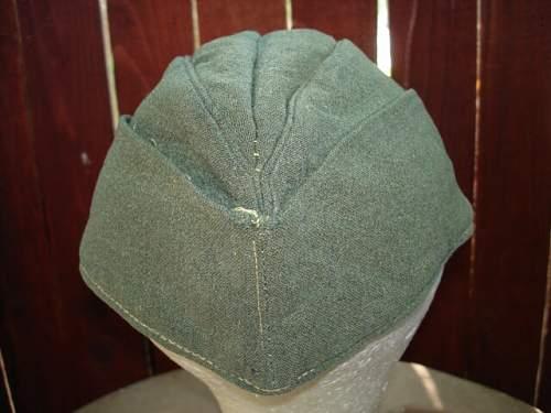 coastal artillery cap