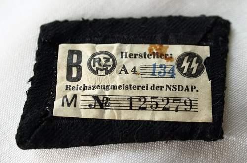 unteroffizier SS RZM tab