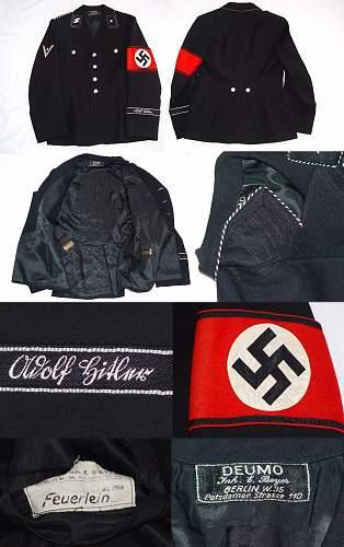 A.H tunic/cuff title
