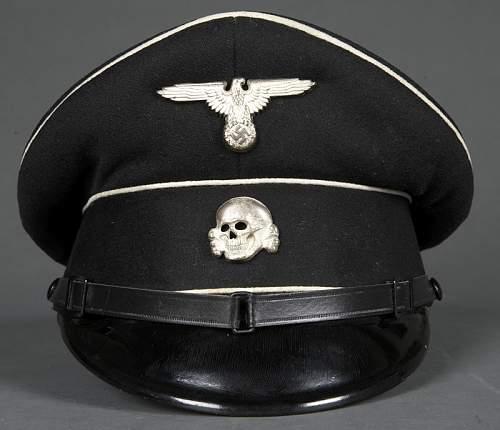Early SS Black Visor