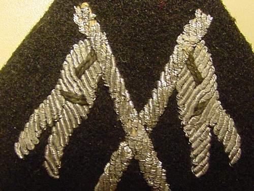 SS cavalry sleeve diamond, real or fake