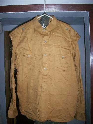 WTK :  SS Saharian Tropical Shirts