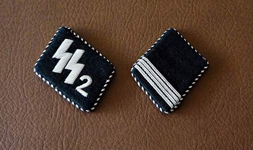 Two new tabs for my SS insignia collection