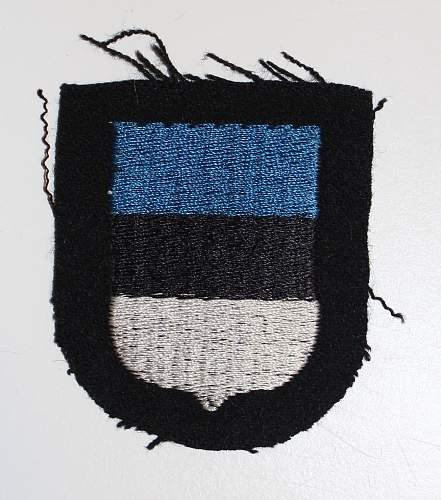 Dachau Pattern Estonian Shield