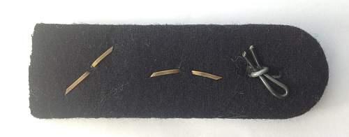 Pioneer Hauptsturmfuhrer shoulder board.