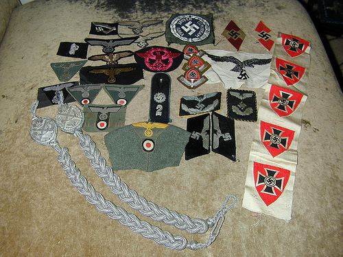 Buying a large lot of insignia and want to authenticate first.