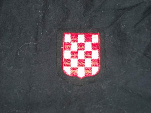 Need Help!!! Value of a Croatian Volunteers Armshield.