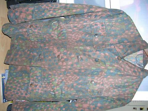SS camo tunic SS-BW marked real or fake