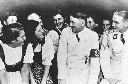 Leibstandarte Adolf Hitler white summer uniforms