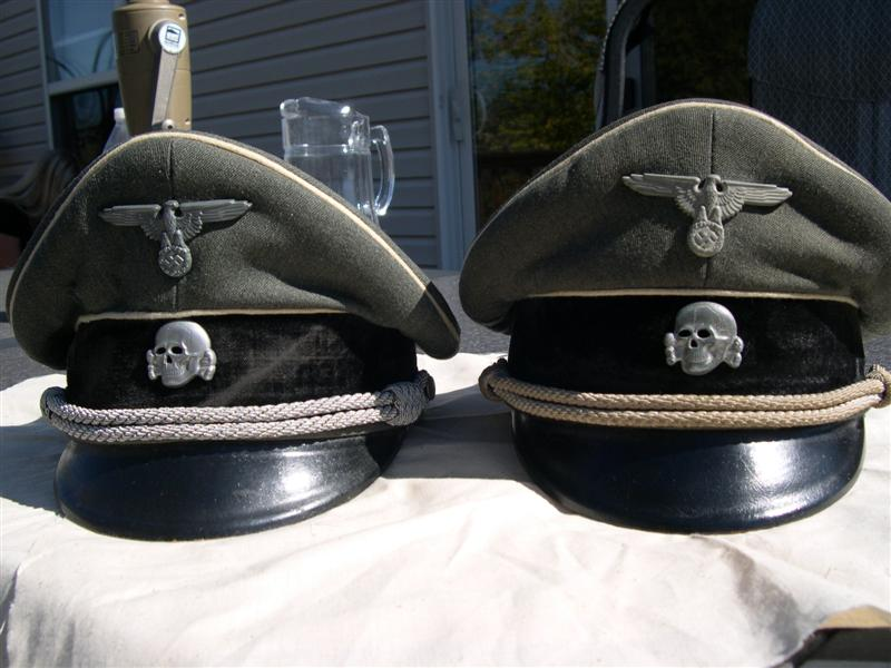 8ce870cded2 What to Look for Waffen SS Visor Cap