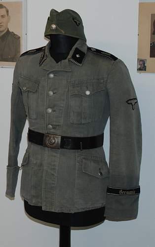Waffen SS HBT Tunic