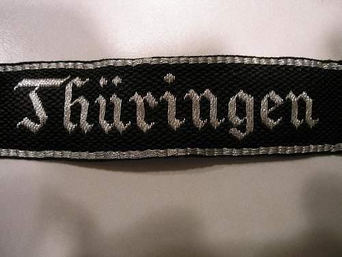"Flatwire ""Thuringen"" cuff title"