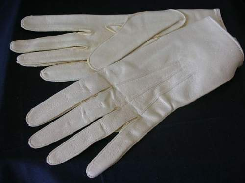 Allgemeine SS LAH parade gloves for viewing.