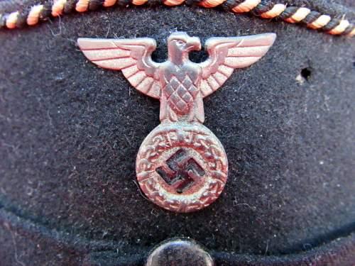 Early Allgemeine SS NCO's Kepi