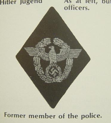 police sleeve diamond