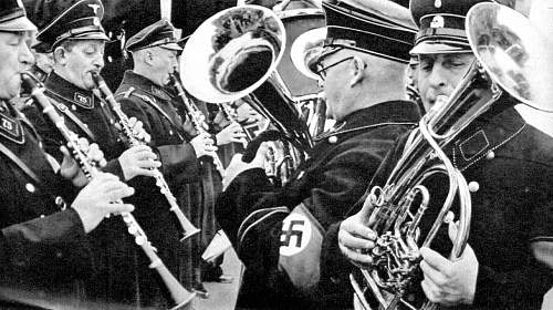 SS Allgemeine musician tunic