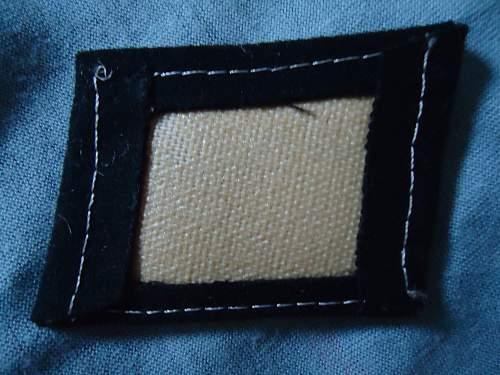 SS Handschar Collar Tab