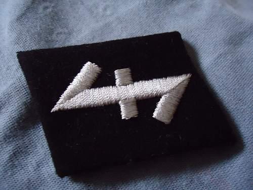 SS Nederland Collar Tab