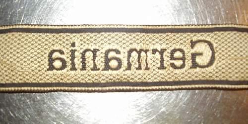 Bevo germania cuff title good or bad?