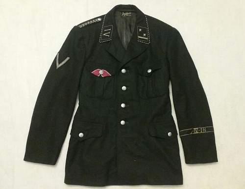 Allgemeine-SS Uniform - What kind of uniform is this?