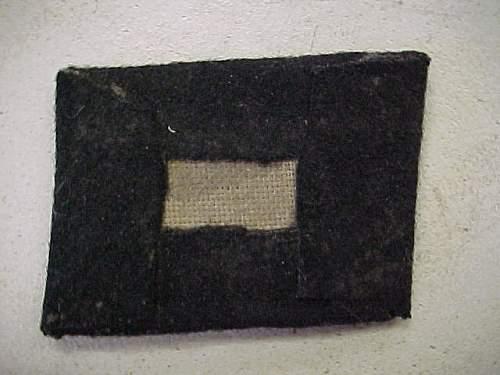 Totenkopf collar tab, real or fake?