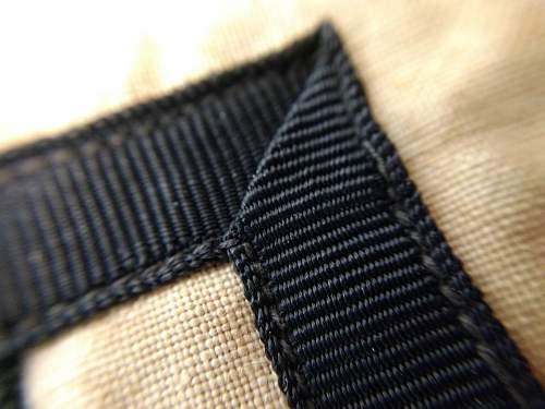 SS wool multi piece brassard