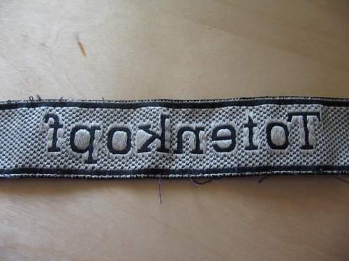 Totenkopf Cuffband + Collar Tabs