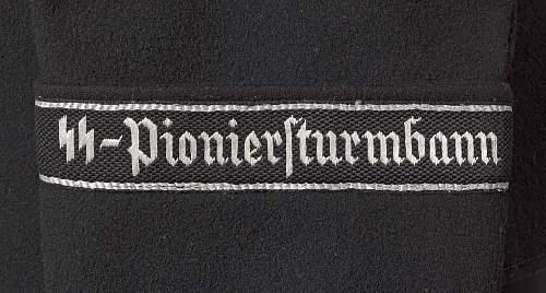Black SS-Pioniersturmbann tunic