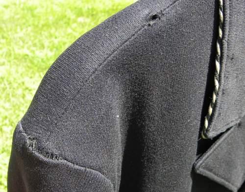 Metal uniform tag