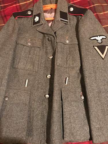 SS M43 Tunic Real or Fake