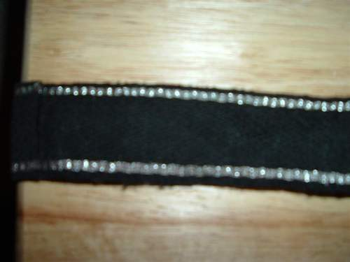 RZM pattern SS Polizei Division cuff title: real or fake?